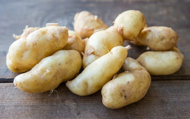 Organic Russian Banana Fingerling Potatoes
