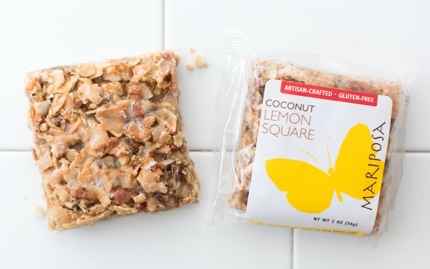 Gluten-Free Coconut Lemon Square