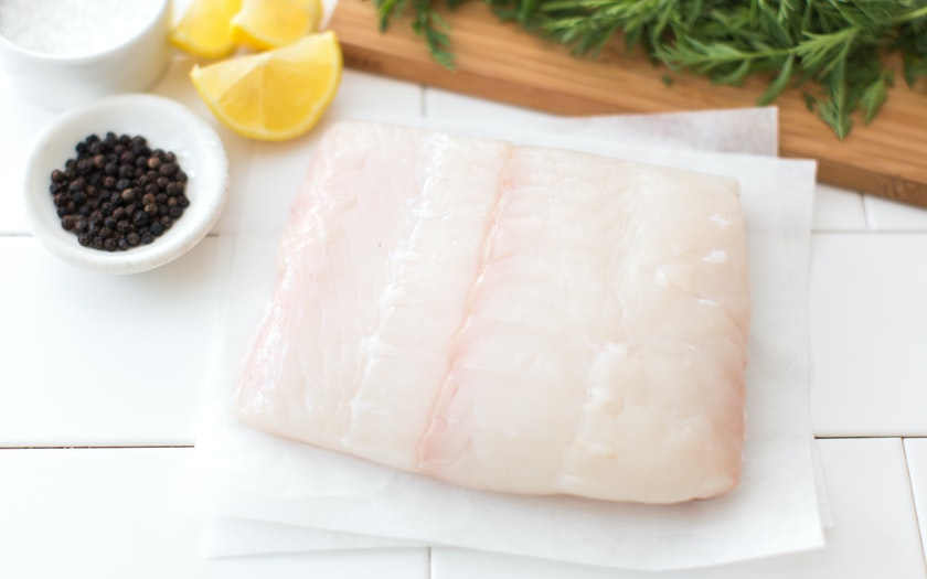 Half Pound Fresh Wild Alaskan Halibut