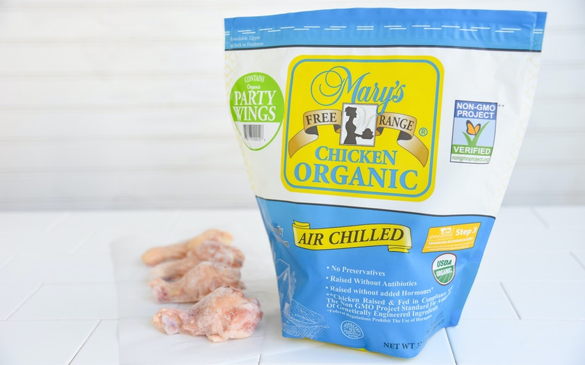 Organic Party Wings (Frozen)