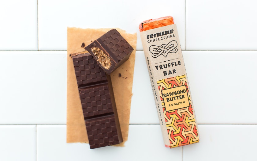 Organic Almond Butter Truffle Bar (Vegan)