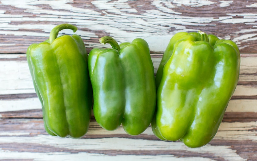 Organic & Fair Trade Green Bell Peppers (Mexico)