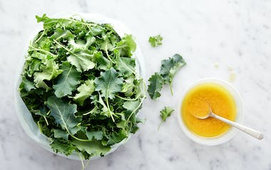 Pre-Washed Baby Kale with Apple Cider Vinaigrette