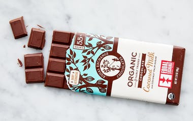 Organic 55% Coconut Milk Chocolate Bar
