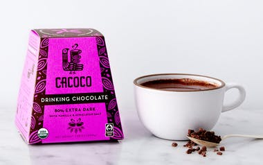 Organic 80% Rich Dark Drinking Chocolate