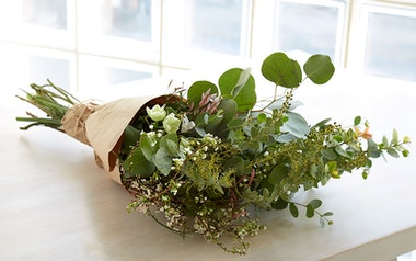 Seasonal Greenery Bouquet