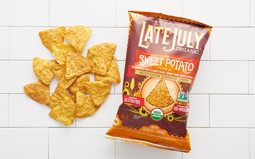 "Organic ""How Sweet Potato It Is"" Multigrain Tortilla Chips"