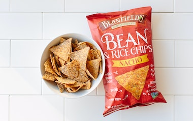 Nacho Bean and Rice Chips