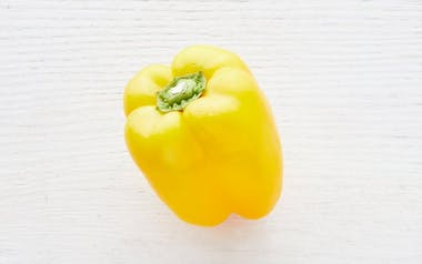 Organic & Fair Trade Yellow Bell Pepper (Mexico)