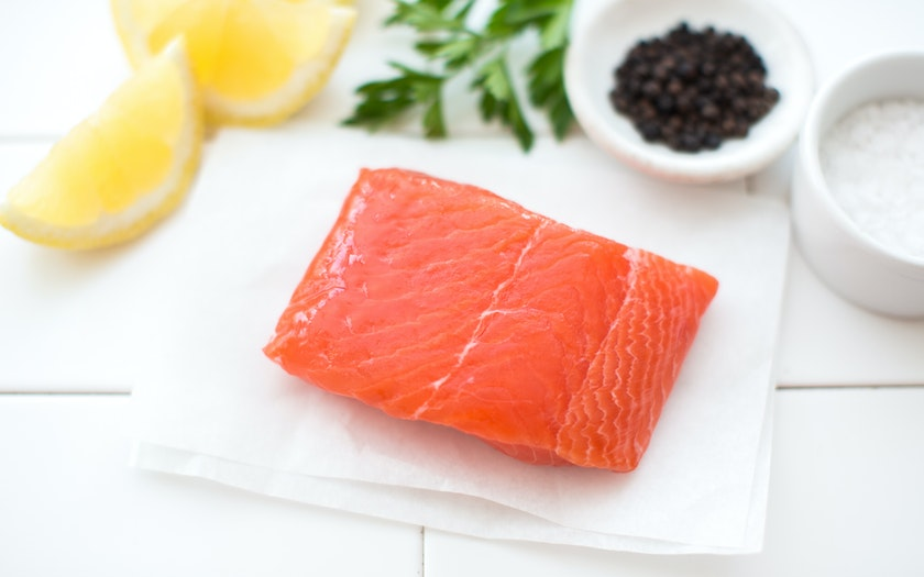 Single Serving Fresh Wild Local King Salmon Fillet