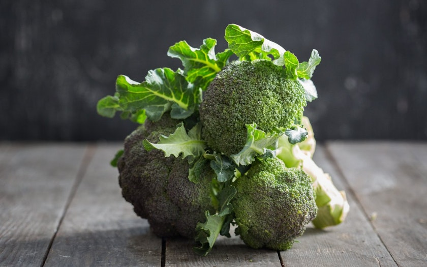 Organic Bunched Broccoli