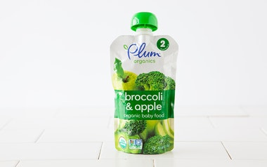 Organic Broccoli & Apple Baby Food (6+ mos)