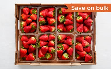 Flat of Organic & Fair Trade Strawberries (Mexico)