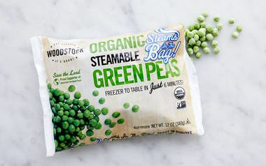 Organic Steamable Frozen Green Peas