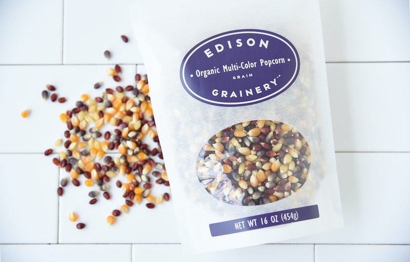Organic Multi-Color Popcorn