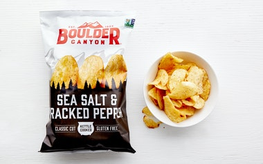 Sea Salt & Pepper Kettle Potato Chips