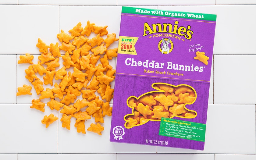 Cheddar Bunnies Snack Crackers