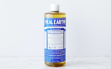 Organic Peppermint Castile Soap