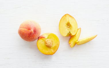 Large Fairtime Yellow Peach Duo