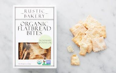 Organic Mini Rosemary Olive Oil Flatbread