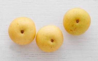 Organic Shinseiki Asian Pears
