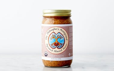 "Organic ""Naked Crunchy"" Sprouted Almond Butter"