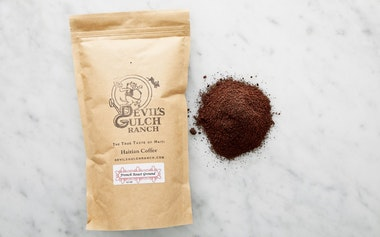 French Roast Ground Haitian Coffee