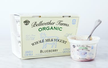 Organic Blueberry Whole Milk Yogurt Cups