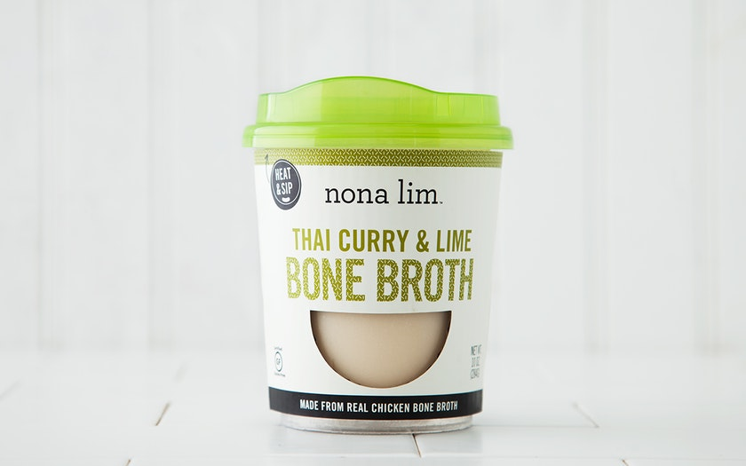 Thai Curry & Lime Broth Cup
