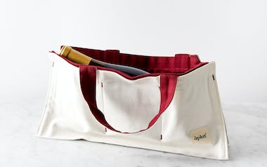 Single Bottle Wine and Picnic Tote - Merlot