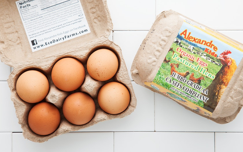 Organic Pasture Raised Eggs (Jumbo)