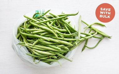 Bulk Organic Blue Lake Green Beans