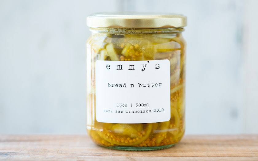 Organic Bread n Butter Pickles