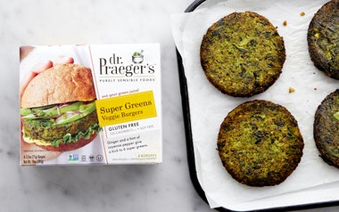 Super Green Veggie Burger