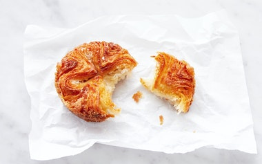 Traditional Kouign-amann