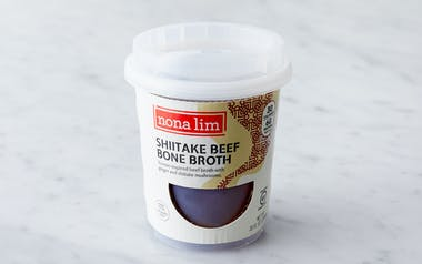Shiitake Beef Bone Broth Cup
