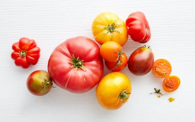 Organic Mixed Heirloom Tomatoes