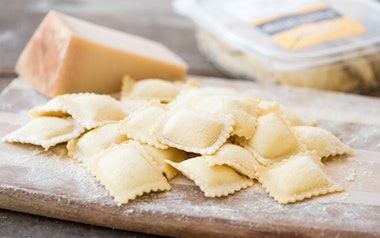 Fresh Three Cheese Ravioli