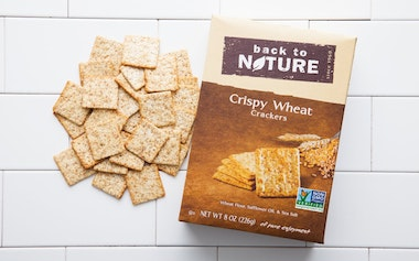 Crispy Wheat Crackers