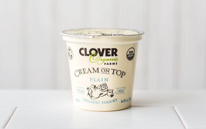 Organic Cream On Top Plain Yogurt
