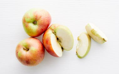 Organic & Biodynamic Red Gravenstein Apples