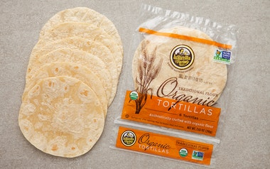 Organic Traditional Flour Tortillas