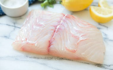 Fresh Wild California Halibut