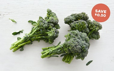 Organic Baby Broccoli Trio