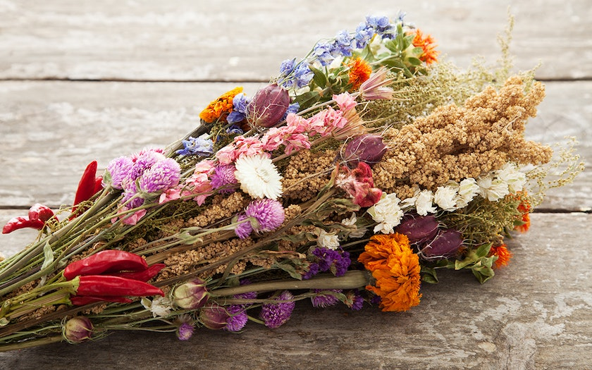 Organic Dried Flower Bouquet