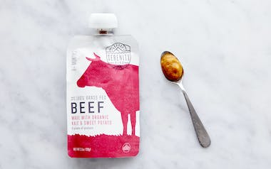 Beef, Kale & Sweet Potato Baby Food