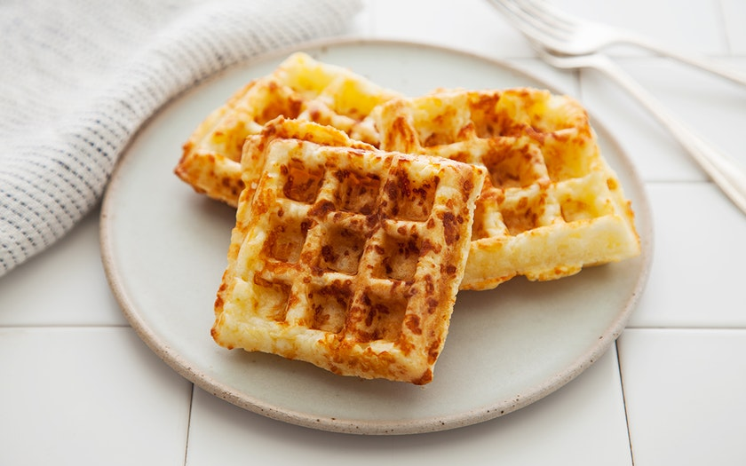 Brazilian Cheese Waffles