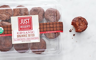 Organic Brownie Bites