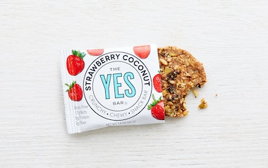 Paleo, Gluten-Free Strawberry Coconut Bar