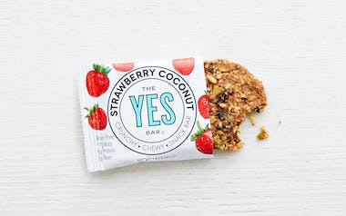 Strawberry Coconut Bar (Vegan, Gluten-Free)